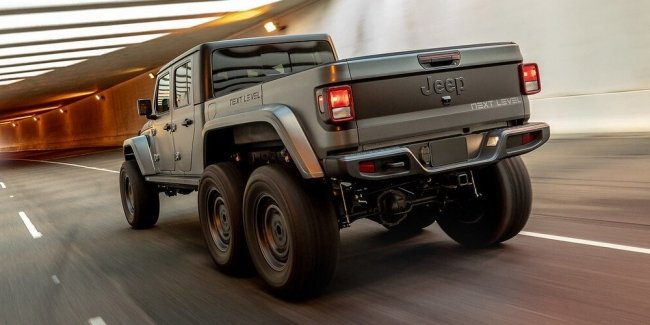 Pampered Cowboys Toy: Jeep Gladiator from Next Level