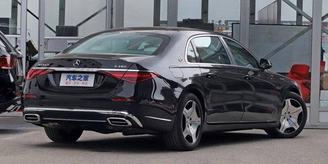 Maybach S480: the main thing is not under the hood…