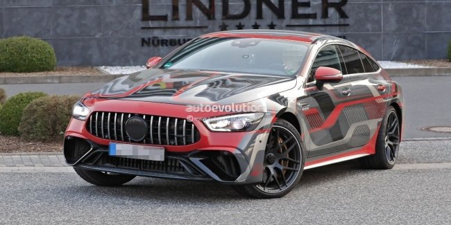 AMG GT 73e: the most powerful in Mercedes history