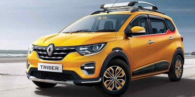 Renault Triber subcompact crossover updated