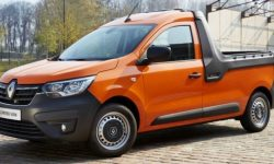 New Renault Express pickup truck