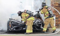 Burnt at a gas station: McLaren incident