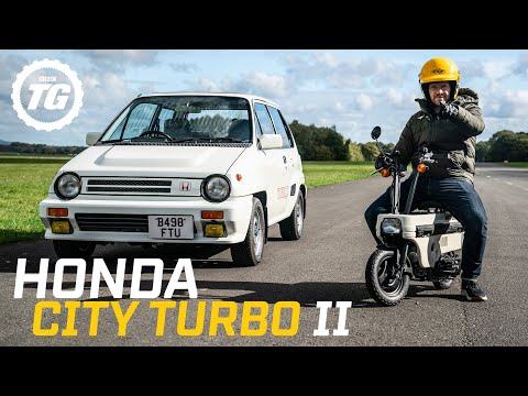 Honda City Turbo II: The 80s hatchback with a motorbike in the boot RETROspective