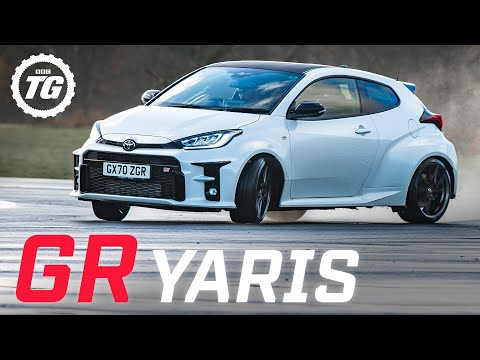 Chris Harris drifts the Toyota GR Yaris: a rally car for the road
