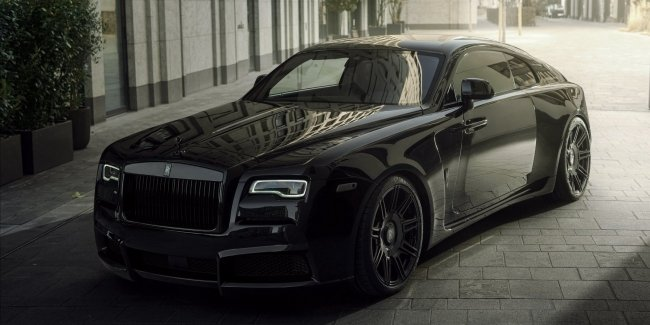 Wraith Black Badge: Rolls-Royce who 'ate' after six