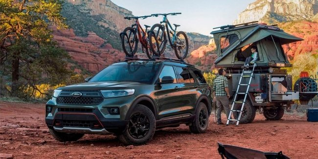 Ford Explorer for heavy off-road