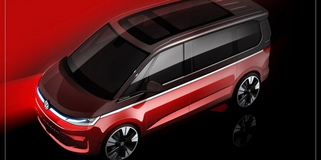 VW continues to tease new Multivan
