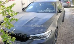 BMW tests mysterious M5