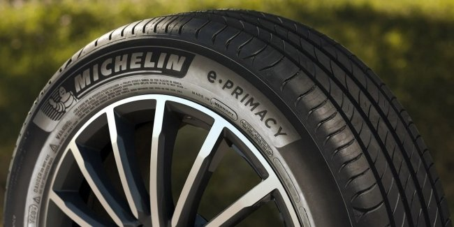 Michelin prepares tires from bottles
