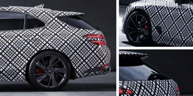 First images of Genesis G70 station wagon