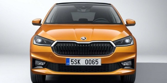 First images of the new Fabia Combi