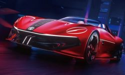 Superfast Electric Roadster Cyberster from MG will launch in a series