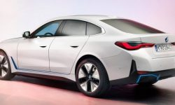 How the sports M-version of the BMW i4 electric car will sound