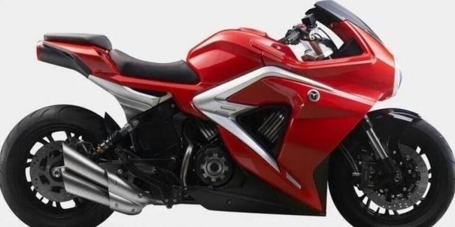 Guess what the bike is? Hint: it's not MV Agusta Superveloce