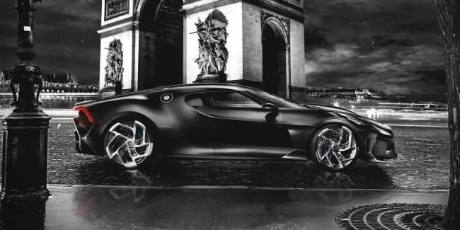 The most expensive Bugatti will be presented in 2 weeks