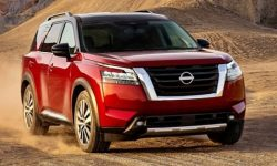The new Nissan Pathfinder is on the assembly line