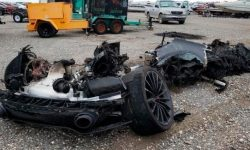 Overcooked 'cue': burnt-out McLaren GT to be sold at auction