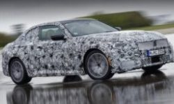 'Double' Coupe: BMW reveals photo from final test