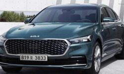 New KIA K900: first official images