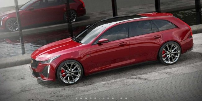 """Cadillac CT5 Sport Wagon: what the """"killer"""" of the Audi RS6 could be"""