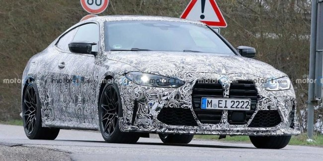 Powerful BMW M4 CSL spotted at Nurburgring