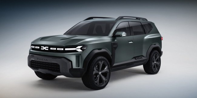 Dacia Bigster: first images of the serial version