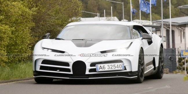 The most powerful Bugatti passes the final tests