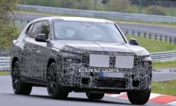 Hybrid BMW X8 brought to the track