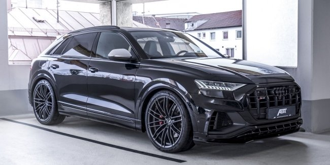 Audi S'8 TFSI from ABT atelier bypassed in return RS 8