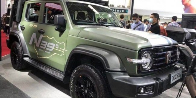 Extreme Tank: Chinese SUV got a special version