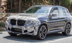 New BMW X3 M loses camouflage