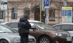 In Kiev will check the legality of parking along highways