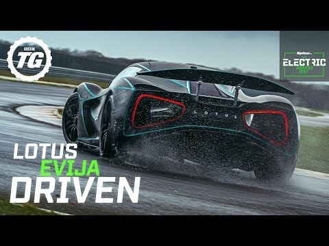 Lotus Evija EXCLUSIVE First Drive: fully electric hypercar prototype track tested