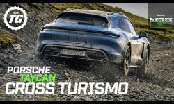 Porsche Taycan Cross Turismo Review: 751bhp electric family estate takes on a rally stage