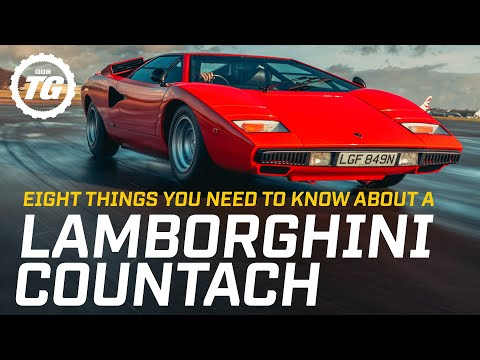Eight things you need to know about a Lamborghini Countach