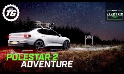 Finding the pole star in an adventure-spec Polestar 2