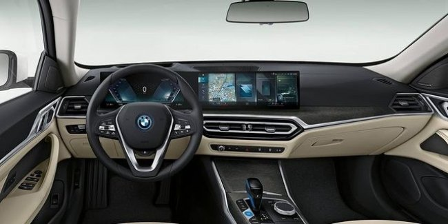 Detailed photos of BMW i4 cabin leaked to the Network
