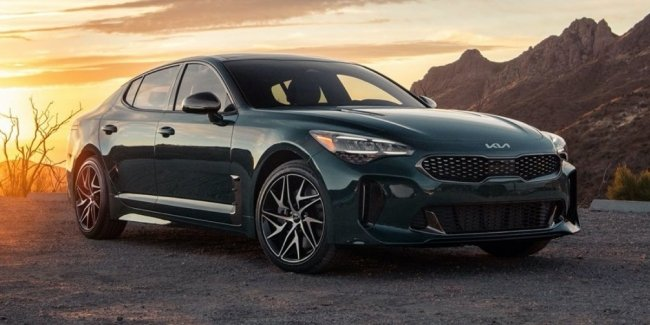KIA Stinger Scorpion Edition: only 250 cars per month