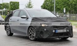 First photos of the updated KIA ProCeed