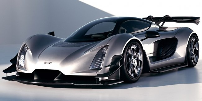 Czinger 21 C hypercar modified before launch in production