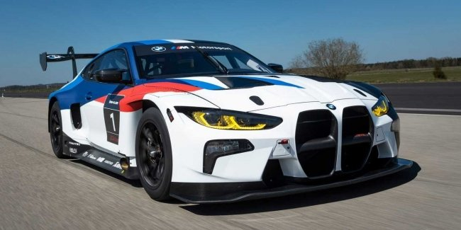 BMW has a new racing sports car