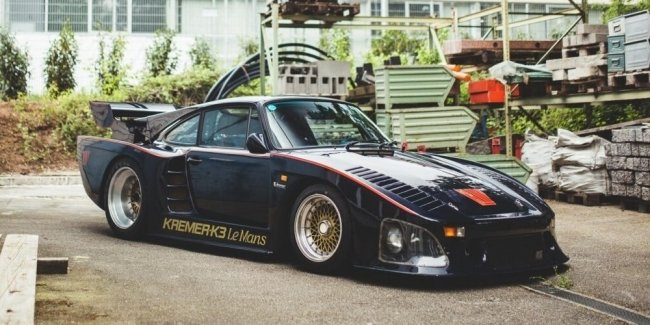 What does the very first and most incredible Porsche supercar look like?