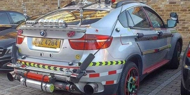 BMW X6 that you haven't seen