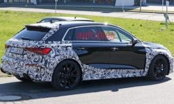 Powerful Audi RS3 Sportback hatch spotted on tests