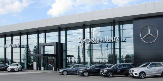 Daimler will start selling not only cars, but also entire car dealerships