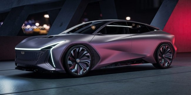 Vision Starburst: Cadillac? No, Geely of the Future