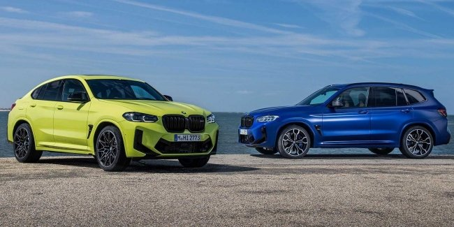 BMW unveils updated X3 and X4, including M versions