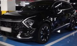 """The first """"live"""" photos of the new KIA Sportage"""