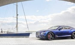 Unique Bentley Continental GT was born with a yacht