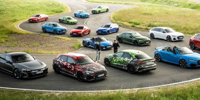 Audi reveals new RS 3 and RS3 Sportback